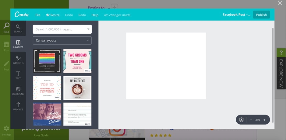 Integrating Post Planner with Canva