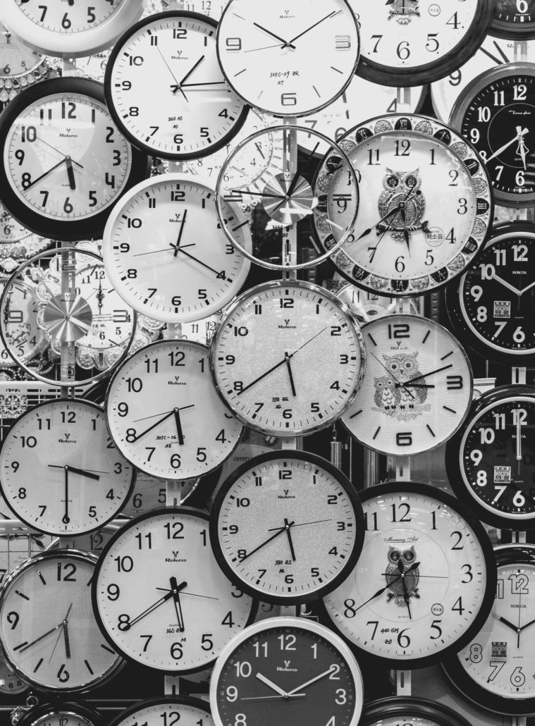 Social media scheduling tools - clocks