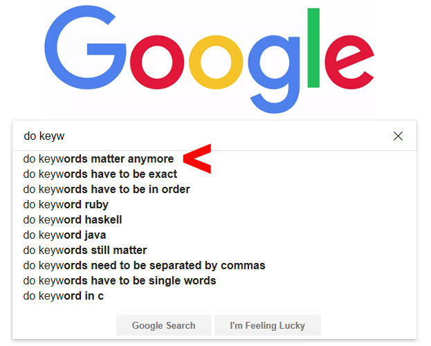 The most important keyword for SEO