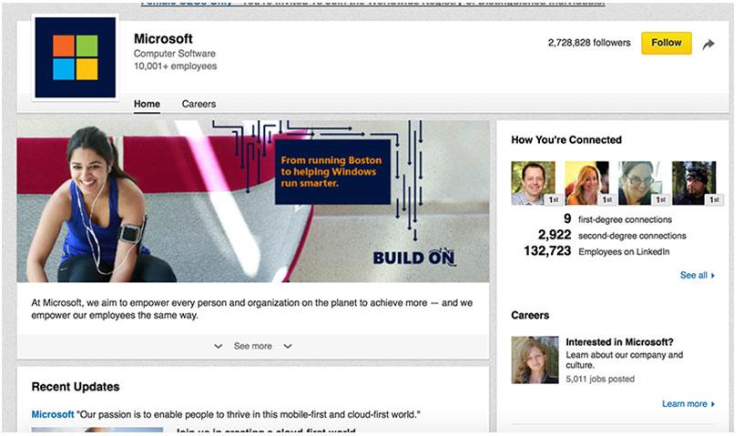 Setting Up a LinkedIn Company Page