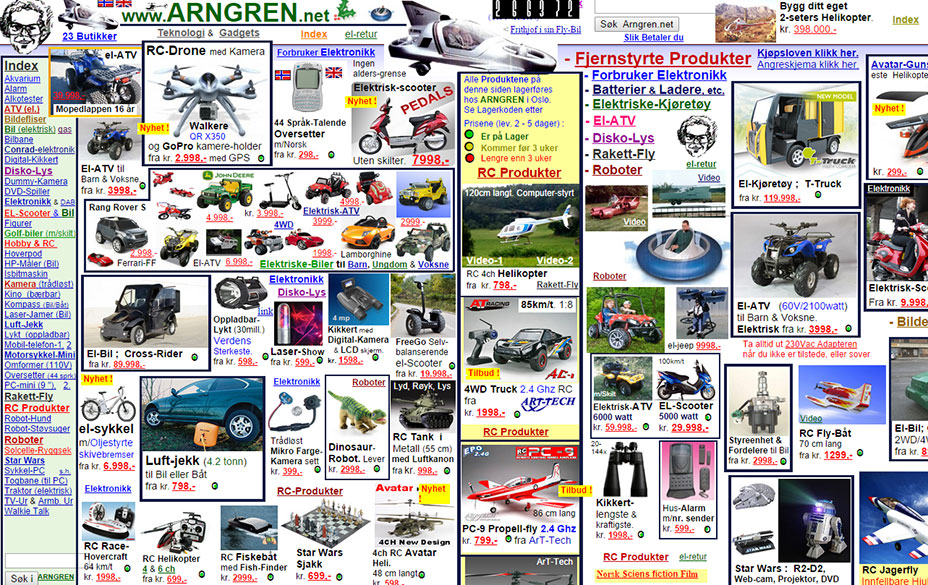 Arngren website