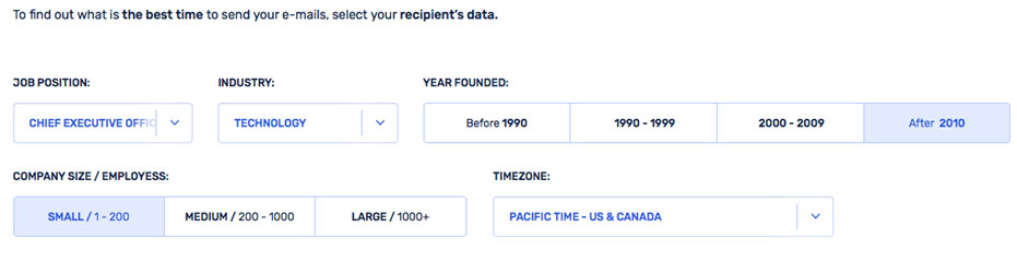 How to optimize email send times