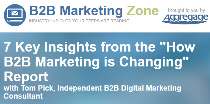 How B2B marketing is changing in 2018 and 2019