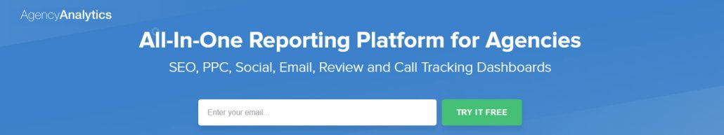 The number one reporting platform for agencies