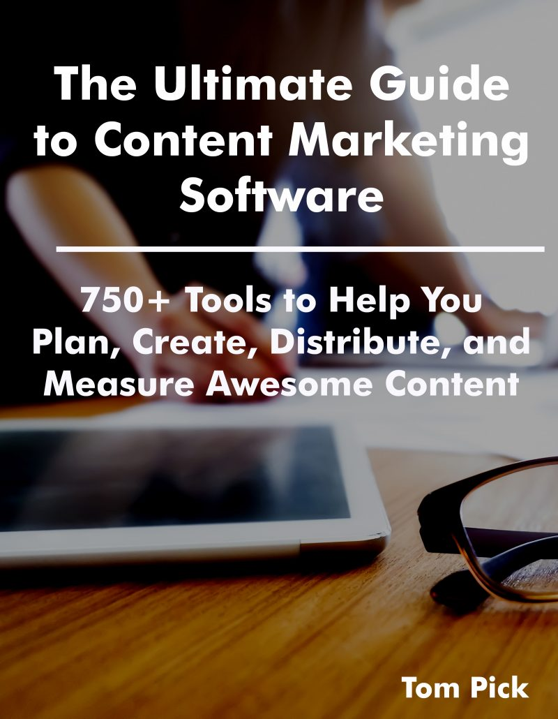 Ultimate Guide to Content Marketing Software - cover