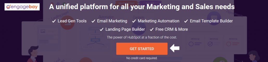 A unified platform for all your Marketing and Sales needs - EngageBay