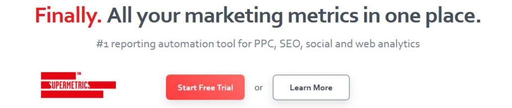 All your social media, PPC, and SEO metrics in one place