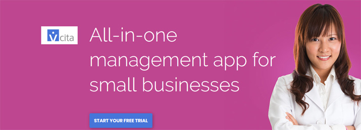 All in one management software for small business - vCita