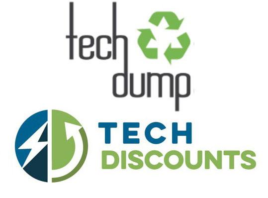 TechDump Tech Discounts logos