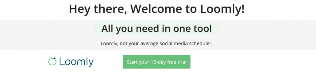 All in one social media scheduling tool