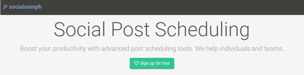 Boost your prodictivity with advanced social media post scheduling