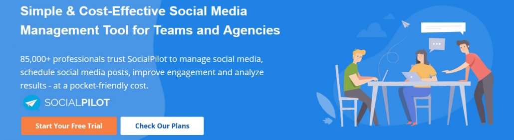 Simple Cost-Effective Social Media Management Tool for Teams and Agencies