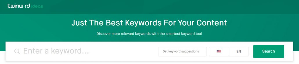 Discover the best keywords with the smartest keyword research tool