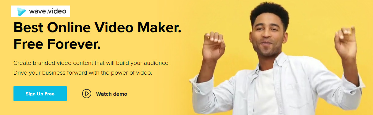 Best online video maker - Create branded video content that will build your audience