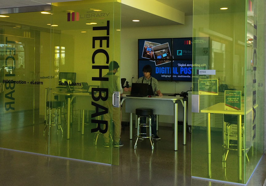 College campuses are increasingly adding tech bars to support student IT needs