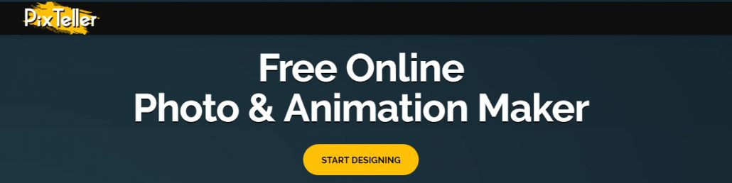 Easy to use online animation creation tool - PixTeller