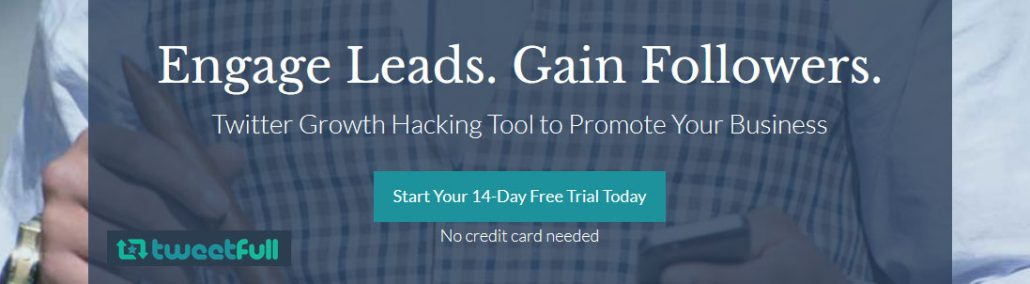 Twitter Growth Hacking Tool - engage leads, gain followers, grow your business
