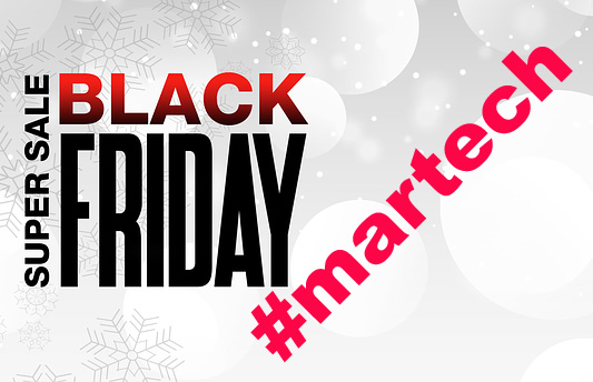 2019 Black Friday deals on martech software
