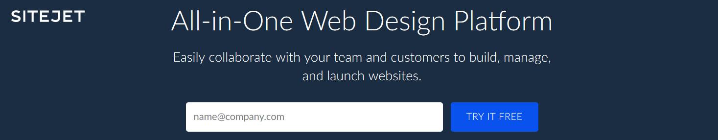All-in-one website design platform