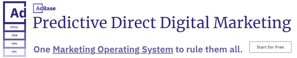 Predictive Direct Digital Marketing - One Marketing Operating System to rule them all