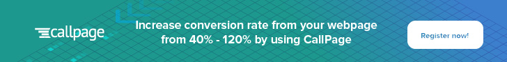Increase conversion rates from your web pages by 40% to 120% with CallPage