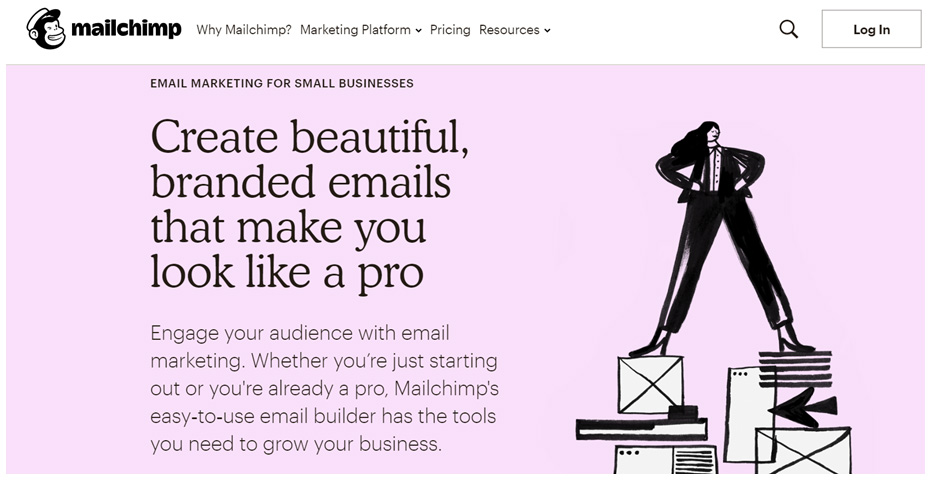 Mailchimp - simple email marketing for small businesses