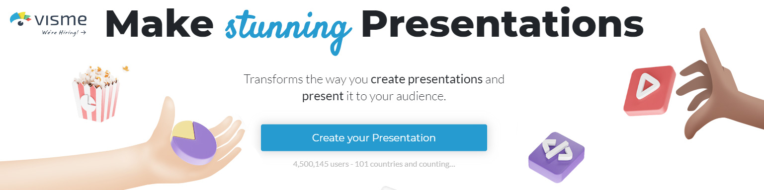 Easily create stunning presentations