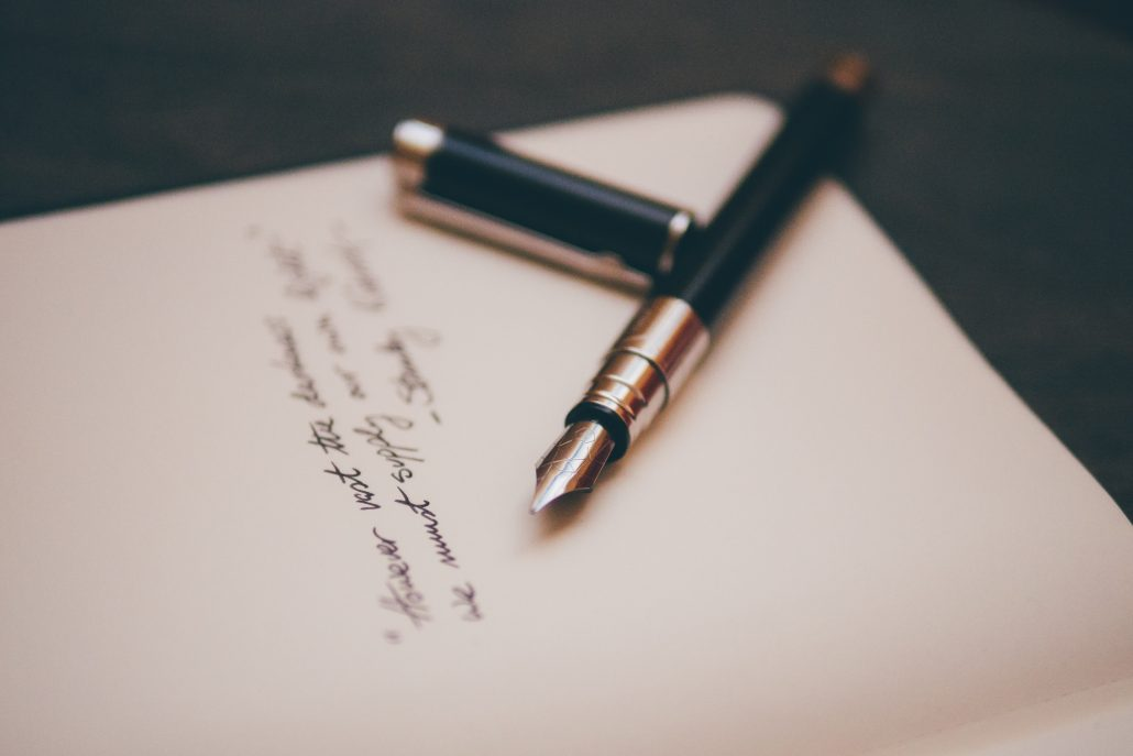Using handwritten notes in B2B marketing