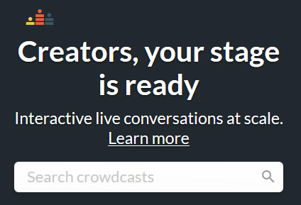 Grow your audience with live video Q&As, interviews, summits, webinars and more