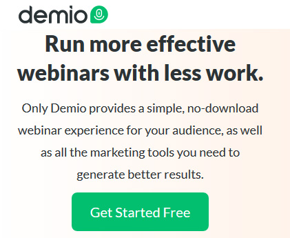 Simple, no-download webinar experience for your audience with marketing tools to generate better results