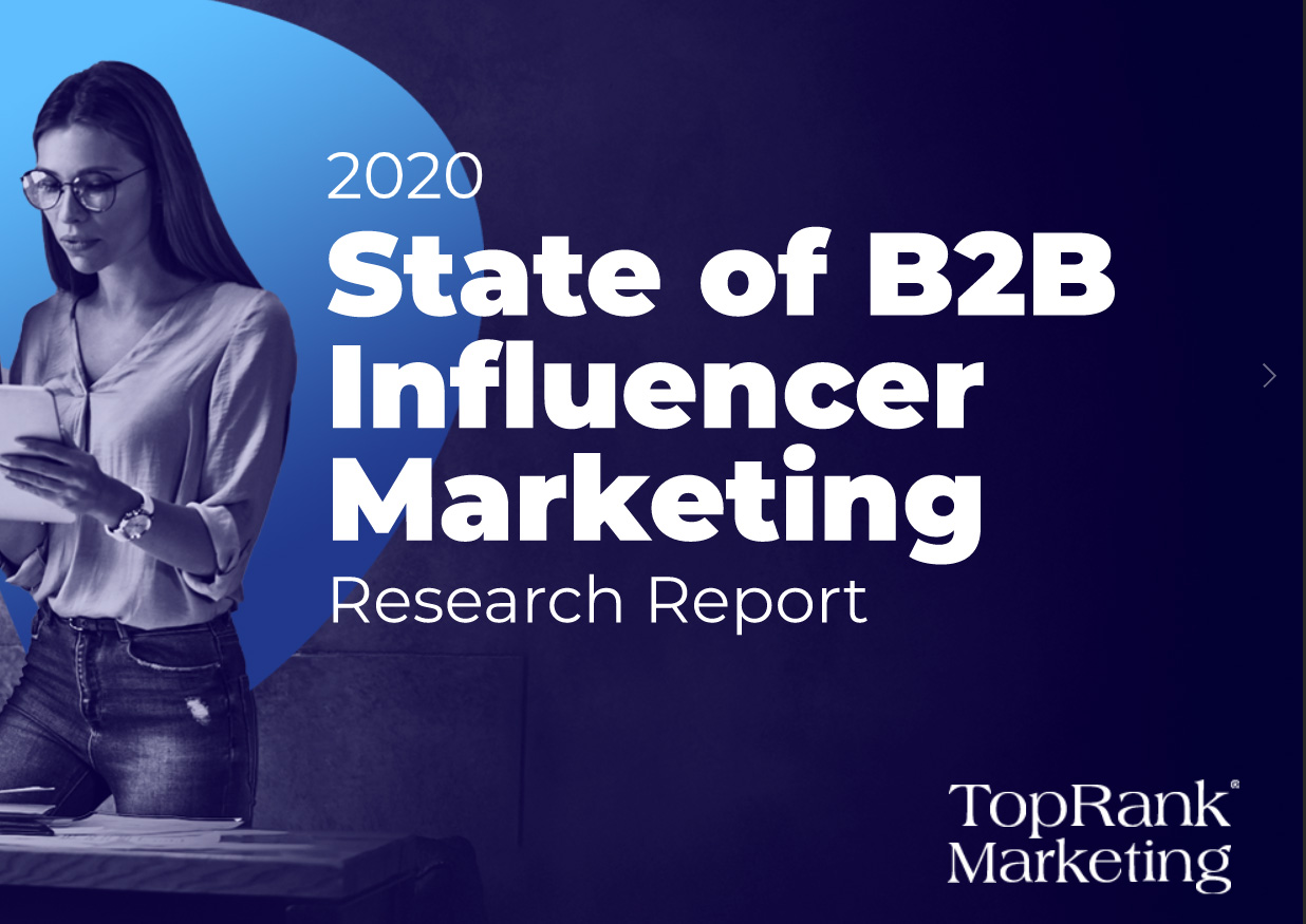 The state of B2B influencer marketing - research