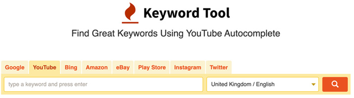 Doing keyword research to optimize YouTube videos