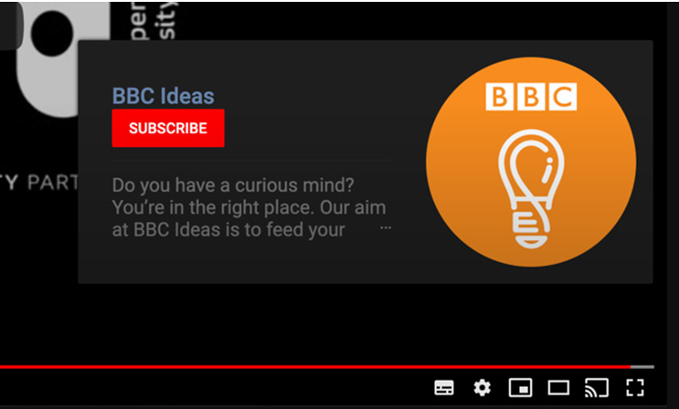 Add subscribe button to video end card