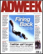 Adweek magazine on the site where marketing pros click