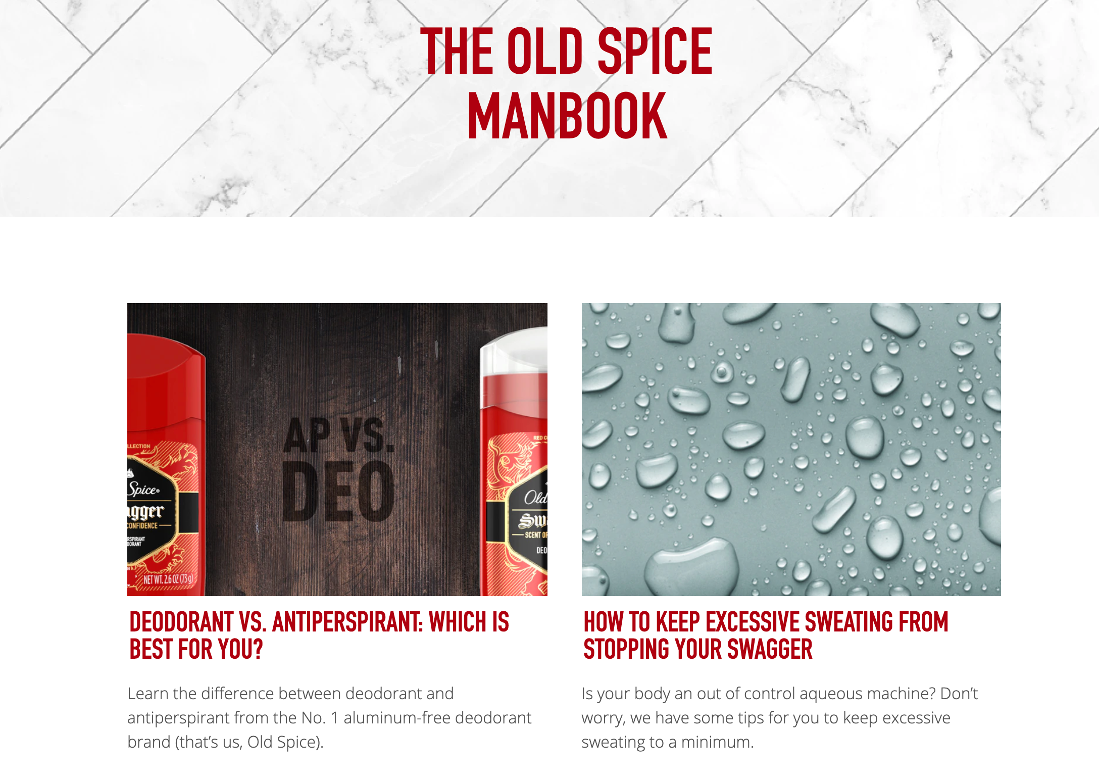 How Old Spice uses storytelling in marketing