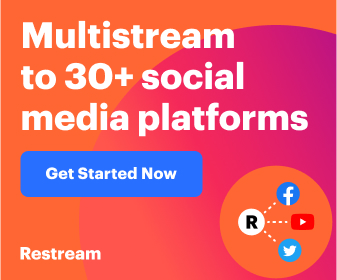 Stream live to multiple social media platforms right from your browser