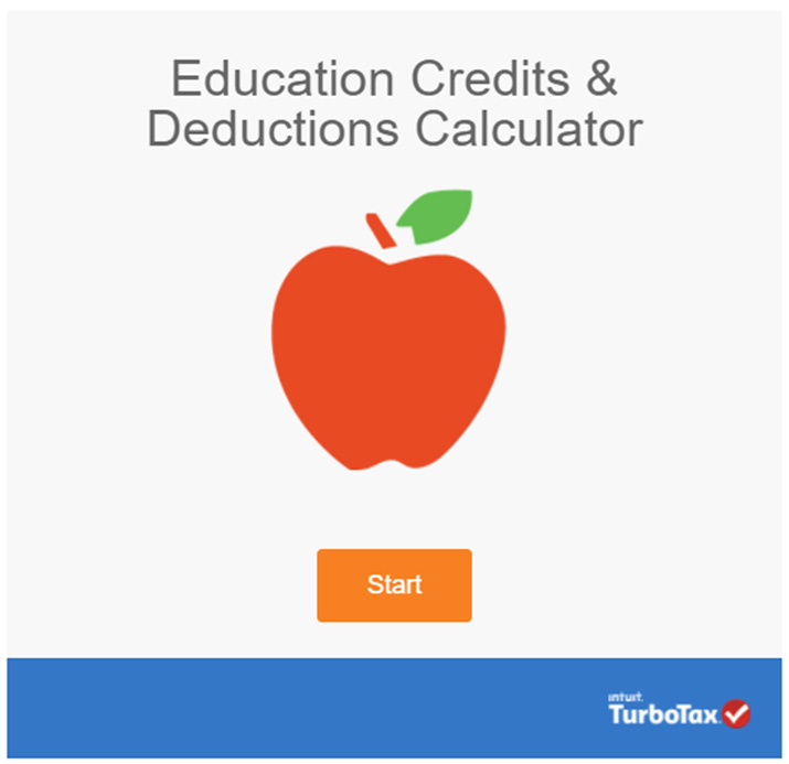 Interactive content - TurboTax calculator example