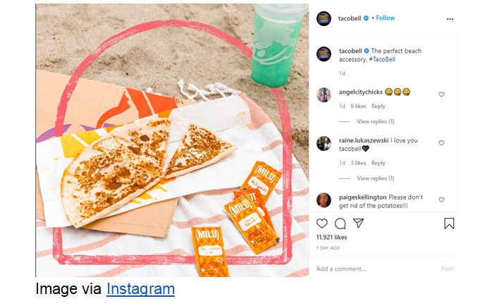 How Taco Bell uses humor in their social media marketing