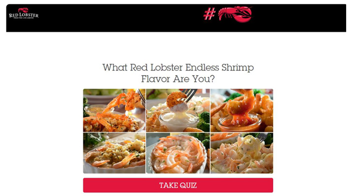 Red Lobster social media marketing example