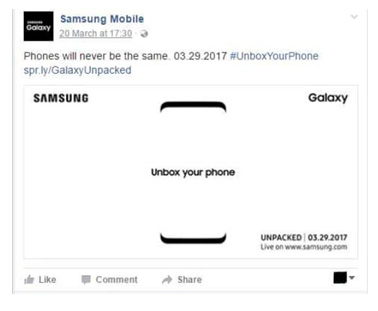 Samsung created a brilliant caricature of the S8 unboxing