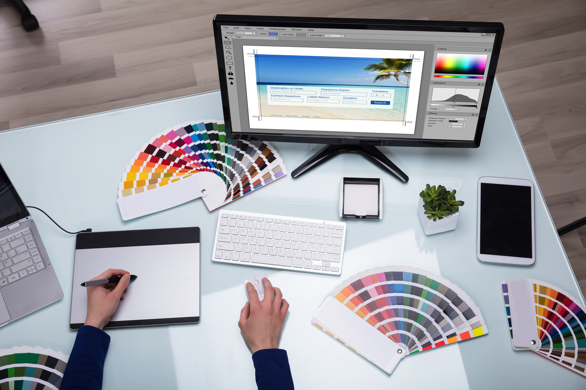 How to use color to design effective landing pages