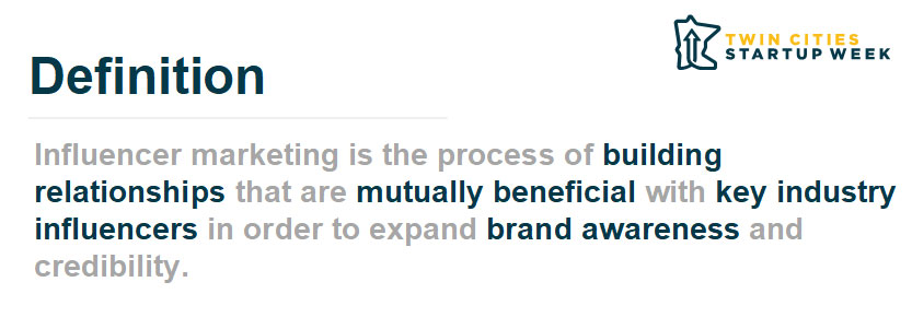 What is B2B influencer marketing?