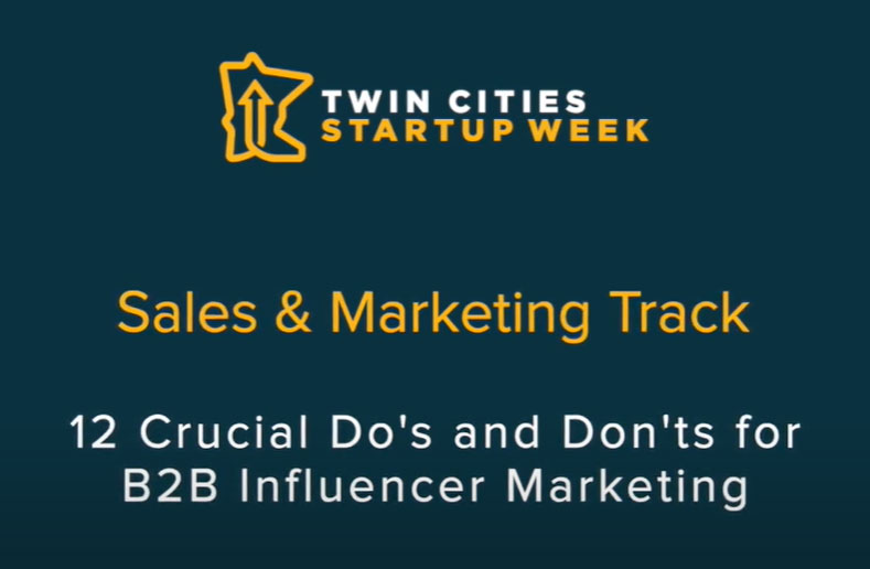 What to do and what not to do in B2B influencer marketing