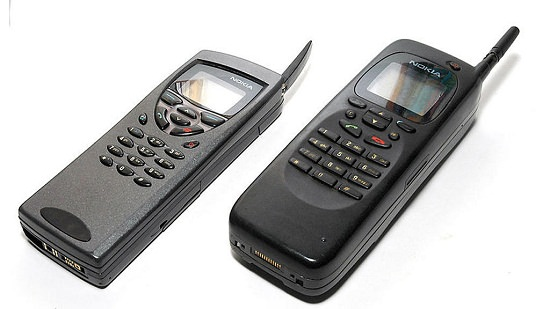 Mobile phones from 1996