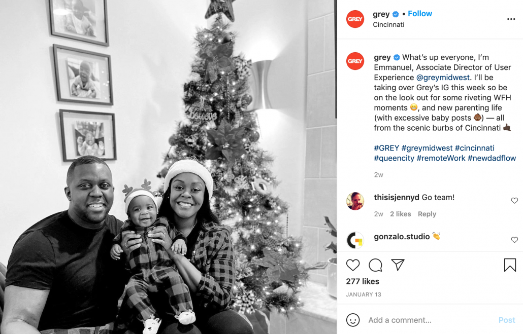 Grey Advertising on Instagram