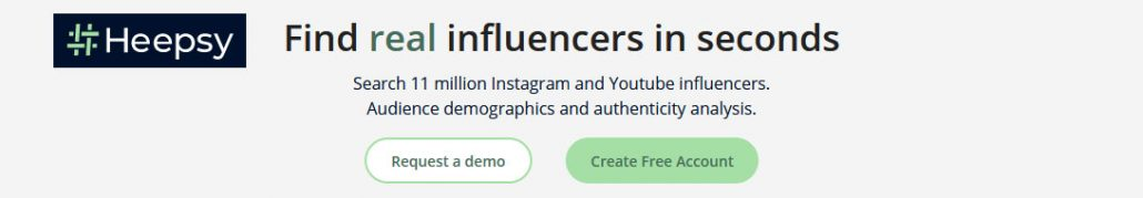 Advanced tools for agencies, advertisers and brands interacting with influencers